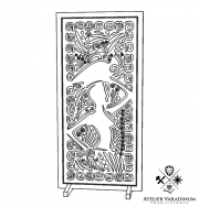 Traditional  decorative panel  PD127