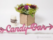 Decor nunta sageata Candy bar S