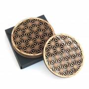 Set 4 buc. Suport pahar / Coaster Model Geometric Abstract